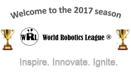 World Robotics League Season 2017 Announced